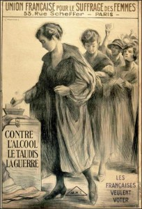 Femmes votant