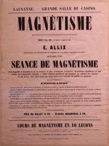 affiche magnétisme