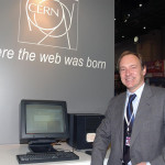 Tim Berners-Lee, inventeur du World Wide Web avec Robert Cailliau
