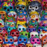 crânes décorés
