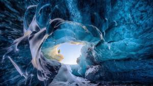 grotte de glace